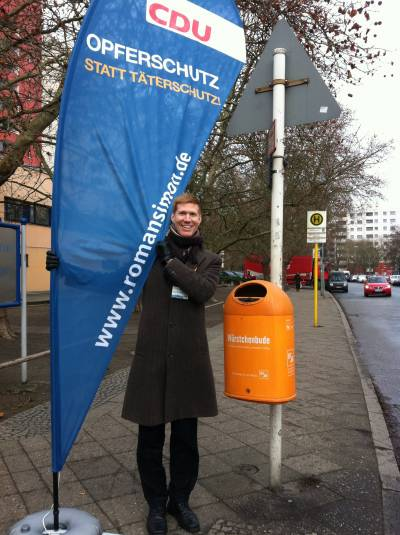 Straßenaktion in Marienfelde am 17.12.2014 - Straßenaktion in Marienfelde am 17.12.2014